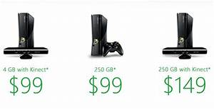 "Xbox 360 ""Entertainment for All"" adds 250GB console to $99 ..."