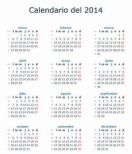 Calendario festivos España 2014 Fiestas nacionales