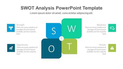 swot template powerpoint modern swot powerpoint template