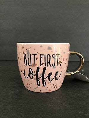 But hobby lobby did participate in and perpetuate the same market from which isis profits. But First Coffee Hobby Lobby Coffee Mug Tea Cup Pink Speckle Confetti NWT ~ M116 | eBay