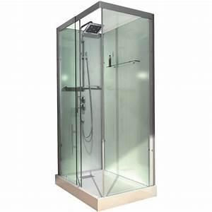 Cabine De Douche Rectangulaire : cabine de douche alterna domino 110 x 80 rectangulaire ~ Melissatoandfro.com Idées de Décoration