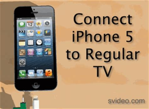 connect iphone to tv iphone 5 tv connection kit