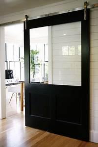 Porte Coulissante En Bois : fabriquer une porte coulissante en bois avec vitre ~ Melissatoandfro.com Idées de Décoration