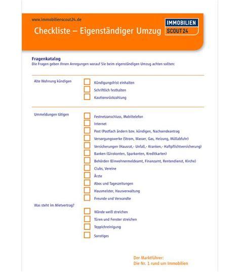 erste küche checkliste checkliste eigenst 228 ndiger umzug haushalt wirtschaften