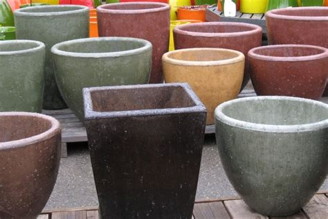 Planters Outstanding Flower Pots For Sale Inside Concrete