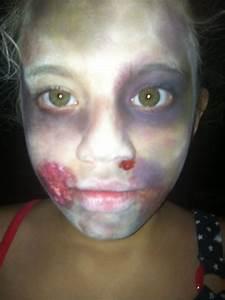 Kids zombie horror makeup | HoLiDaYs:) | Pinterest