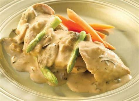 cuisiner les filets de poulet filet de poulet sauce boursin au cookeo délicieux plat