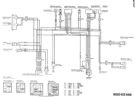 wiring diagram for honda xr250