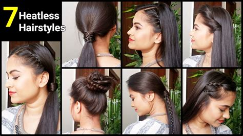 heatless hairstyles quickeasy everyday hairstyles