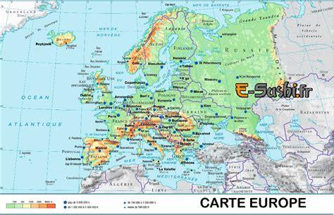 Carte Routière De L Europe 2017 by Carte De L Europe Hd Beurshelp