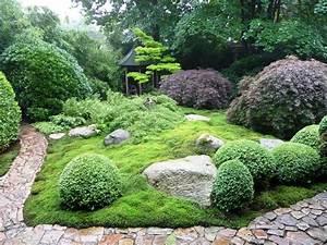 Japanischer Garten Pflanzen : japanischer garten bambus ~ Markanthonyermac.com Haus und Dekorationen