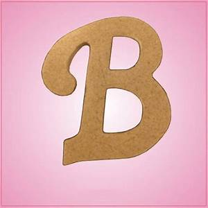 cursive letter b cookie cutter cheap cookie cutters With cookie letter press