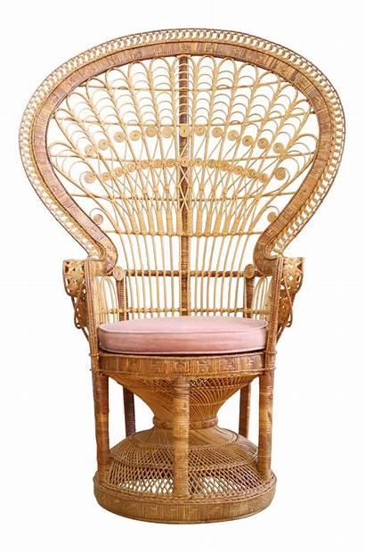 Peacock Chairish Chair Wicker Rattan Chairs