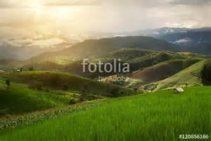 Beautiful Landscape Nan Province Thailand
