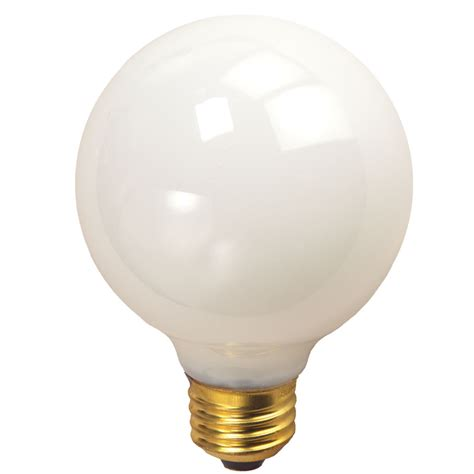 3 quot white medium base decorative globe light bulb 10 pack