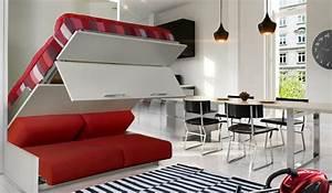 Lit Gain De Place : armoire lit ~ Premium-room.com Idées de Décoration