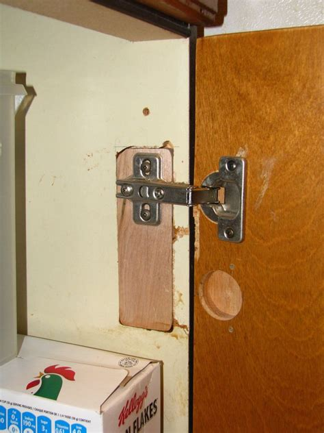 broken cabinet door replacement kitchen hinge fix