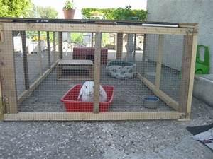 Maison Pour Lapin : enclos lapin fait maison ventana blog ~ Premium-room.com Idées de Décoration