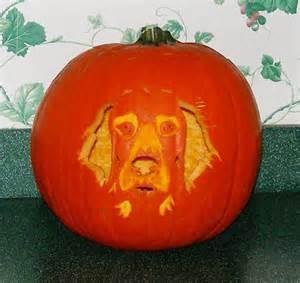 Pumpkin Carving Patterns Dog Golden Retriever