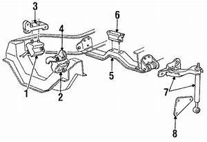 Mazda B4000 Mount  Transmission  Crossmember Insulator