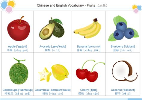 Fruit Flashcard 1  Free Fruit Flashcard 1 Templates