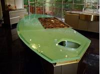 glass counter tops Glass FAQ - Brooks Custom