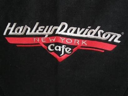 Davidson Harley Cafe Jacket Denim Jean York
