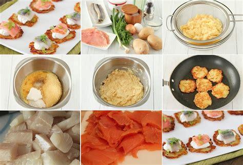 Kartupeļu pankūku uzkoda ar zivīm - Laiki mainās!