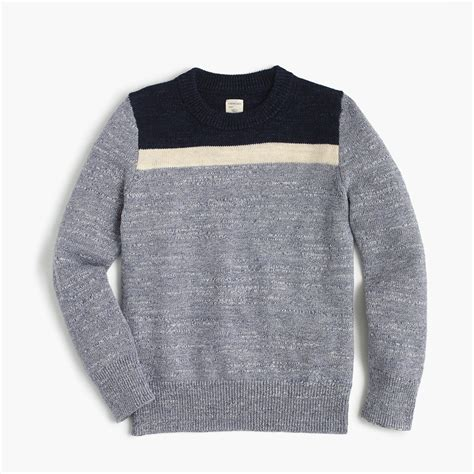 sweaters for boys 39 colorblocked cotton crewneck sweater boys