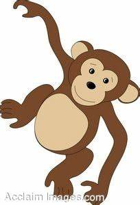 Hanging Monkey Clipart Black And White | Clipart Panda ...