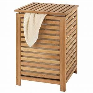 Panier à Linge Bambou : coffre linge norway 18620100 achat vente panier ~ Dailycaller-alerts.com Idées de Décoration