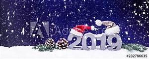 Weihnachten 2019 Mädchen : weihnachten und neujahrskarte 2019 schnee winterlandschaft ~ Haus.voiturepedia.club Haus und Dekorationen