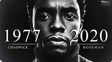 Sad!!! T'Chala Of Black Panther, Chadwick Boseman Dies At ...
