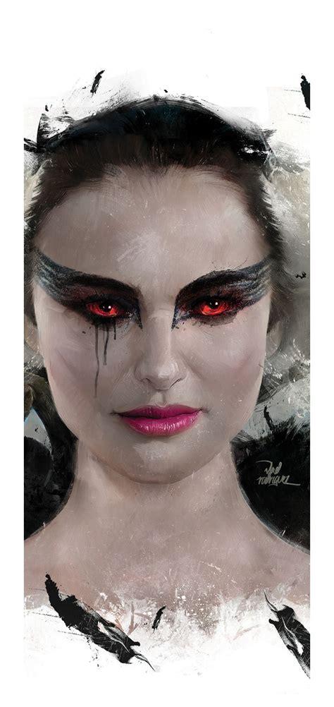 Alternative movie poster for Black Swan by Vlad Rodriguez