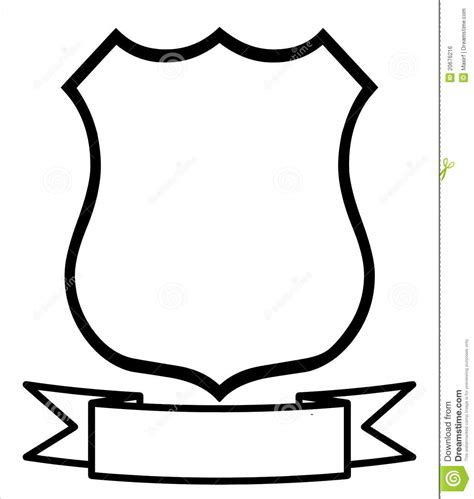 Blank Badge Template by The Gallery For Gt Blank Family Crest Printable