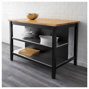 Ikea Stenstorp Wandregal : stenstorp kitchen island black brown oak 126x79 cm ikea ~ Orissabook.com Haus und Dekorationen