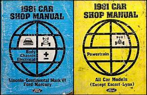 1981 Ford Ltd And Mercury Marquis Wiring Diagram Original