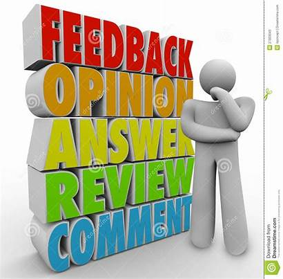 Feedback Comment Person Opinion Thinking Question Customer