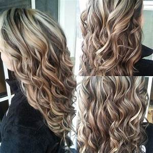 Blonde highlights and dark brown lowlights! COME LEARN ...