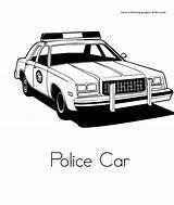 Kereta Mewarna Ausmalbilder Polizeiauto Samochody Malbögen Bedruckbare Malbücher Kinderfarben sketch template