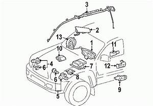 2000 Toyota Tundra Parts Diagram