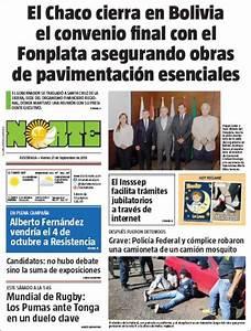 Peri U00f3dico Diario Norte  Argentina   Peri U00f3dicos De Argentina  Edici U00f3n De Viernes  27 De