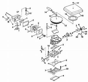 Omc Stern Drive Carburetor Parts For 1990 2 3l 232bmrpws