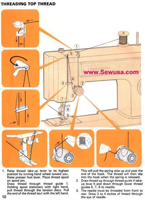 Kenmore Sewing Machine Threading
