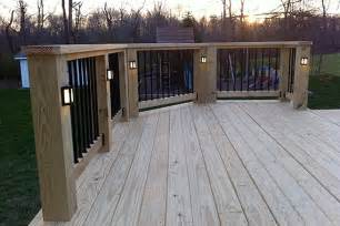 Solar Powered Heat Lamp by Deck And Patio Lighting Ideas That Add Livability Orson