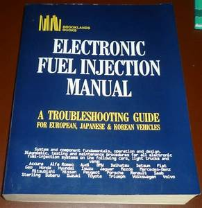 Electronic Fuel Injection Manual  Mitchells  A