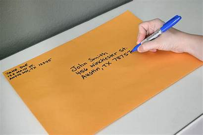 Attention Address Mailing Envelopes Envelope Letter Addressing