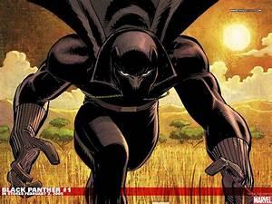 Black Panther Marvel Wallpaper - WallpaperSafari