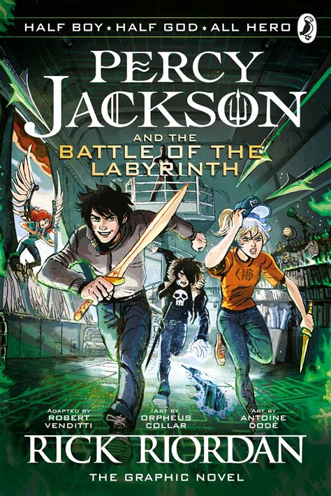 The Battle Of The Labyrinth The Graphic Novel Percy