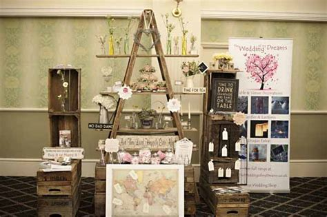 the midlands vintage chic wedding fair our stand uk